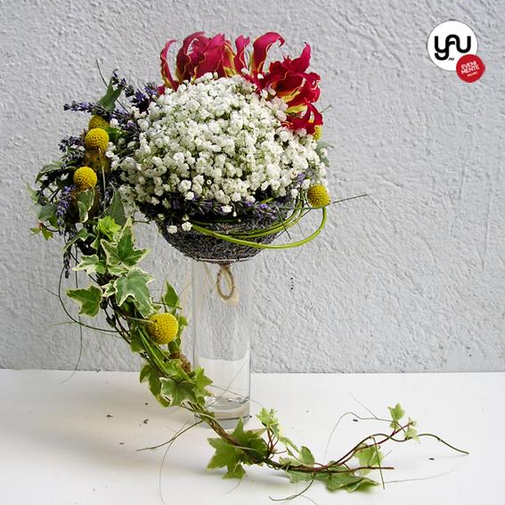 yau flori + yau evenimente + buchet de nunta special