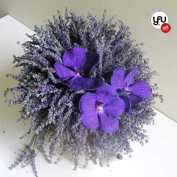 yau flori+yau evenimente_buchet de nunta cu lavanda si orhidee