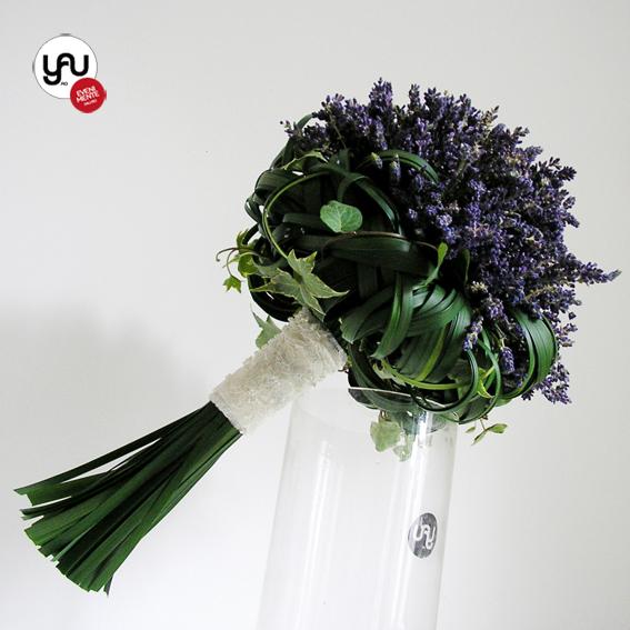 yau flori+yau evenimente_buchet de mireasa cu lavanda proaspata_french mood