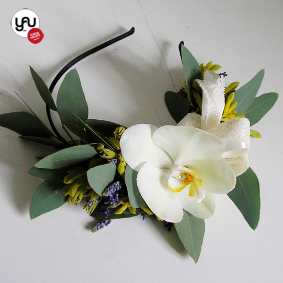 yau flori_coronita cu flori naturale
