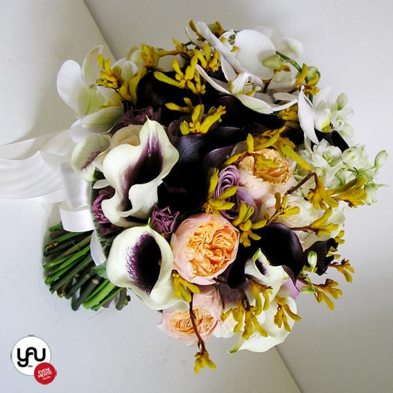 yau evenimente_buchet mireasa romantic crem lila