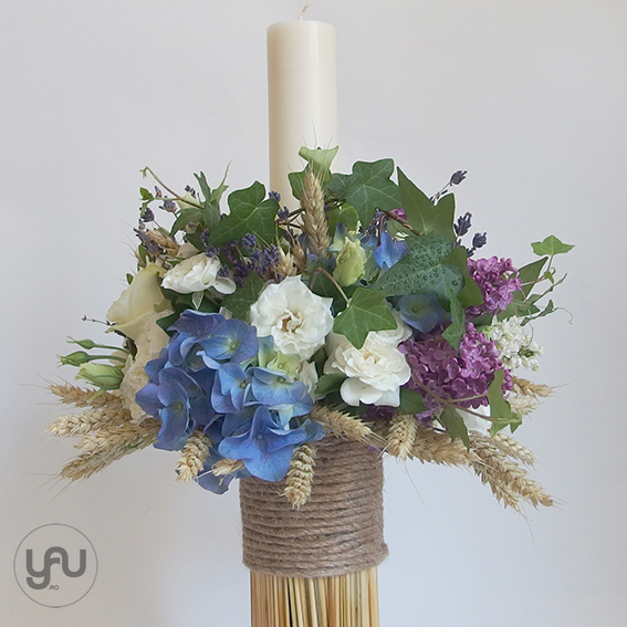 yau concept_yau flowers_yau events_lumanare pentru botez