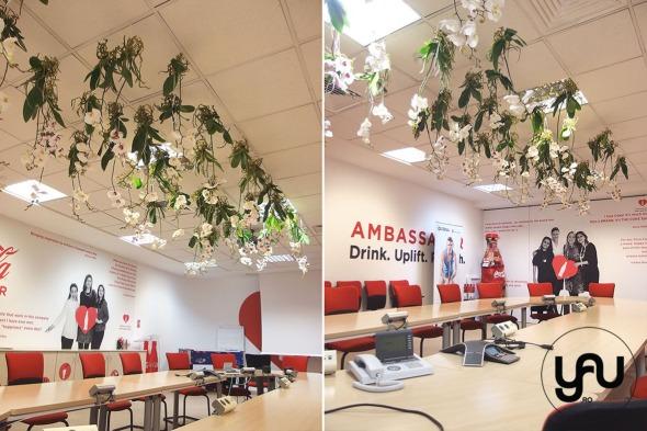 yau events 2015_cranjul cu flori albe de la birou - pentru DORNA ROMANIA _ orhidee_hortensii (4)